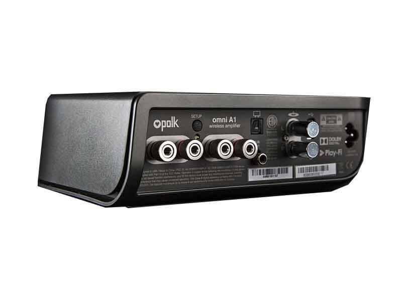 Стереоусилитель беспроводной Polk Audio Omni A1, Цвет: Чёрный, (Omni A1)