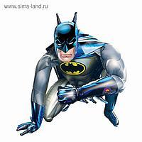 """Шар фольгированный 45"""" «Бэтмен», ходячий"""