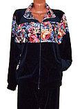 Женский велюровый спортивный костюм, фото 2