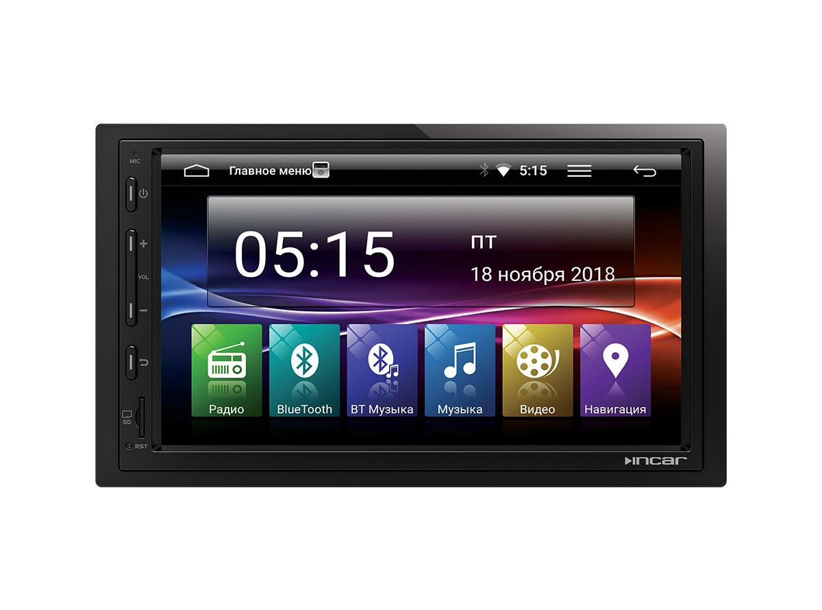 Универсальное головное устройство 2DIN Incar AHR-7480 Android 7.1