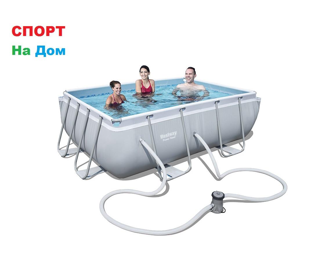 Каркасный бассейн Bestwey 56629 (282 х 196 х 84 см, на 3662 литра )