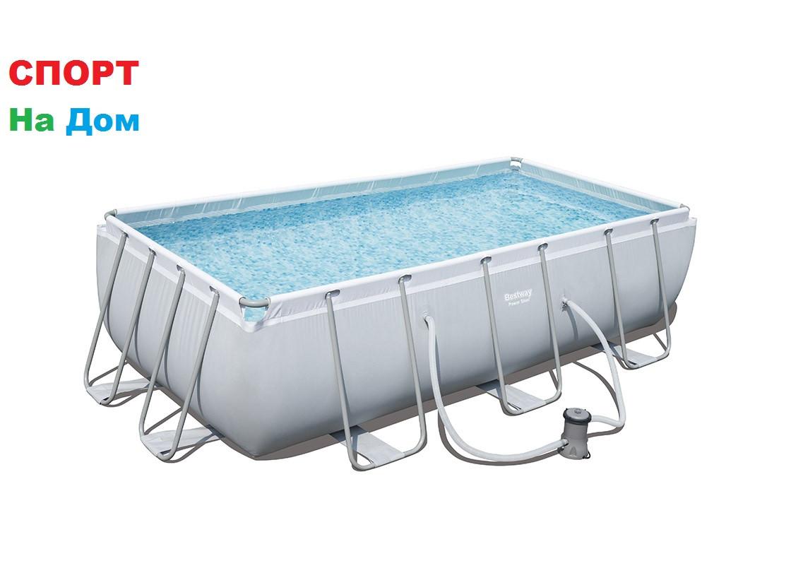 Большой каркасный бассейн Bestway 56251 (404 х 201 х 100 см, на 4531 литров )