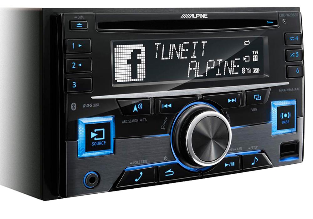 Универсальное головное устройство Alpine CDE-W296BT