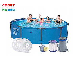 Каркасный бассейн Bestway 56408 ( 305 х 76 см, на 4678 литров ), фото 2