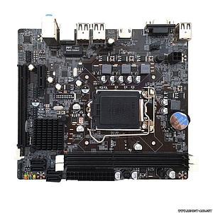 Материнская плата S1155, Intel H61M, PCI-Ex16