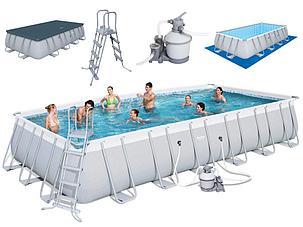 Большой каркасный бассейн Bestway 56475 (732*366*132 см, на 30045 л), фото 2