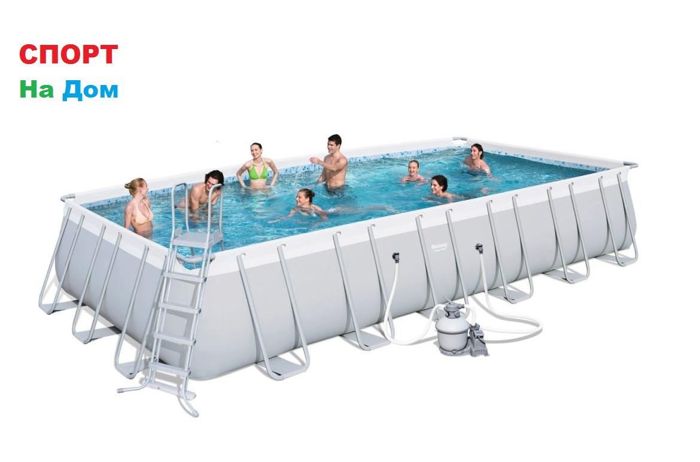 Большой каркасный бассейн Bestway 56475 (732 х 366 х 132 см, на 30045 литров)
