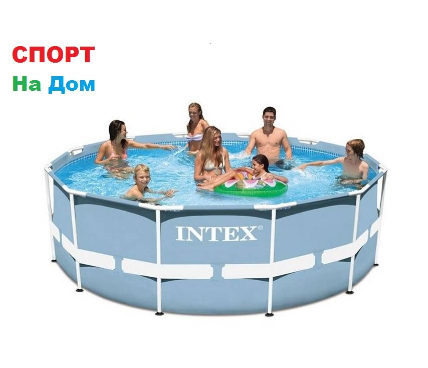 Круглый каркасный бассейн Intex 26716 (366 х 99 см, на 8592 литра )