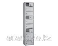 Шкаф кассира AMB-140/10, 10 ячеек с ключевыми замками