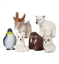 """Весна Набор резиновых игрушек """"Животные Арктики и Антарктики"""""""