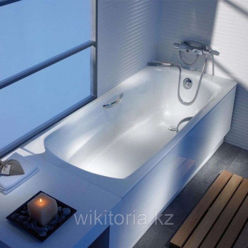 Установка металлической ванны, и подключение к ней смесителя и сифона
