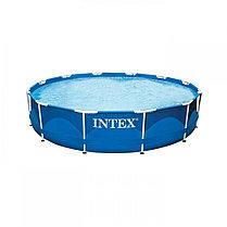 Круглый каркасный бассейн Intex 28210 (366 х 76 см, на  6503 литра ), фото 3