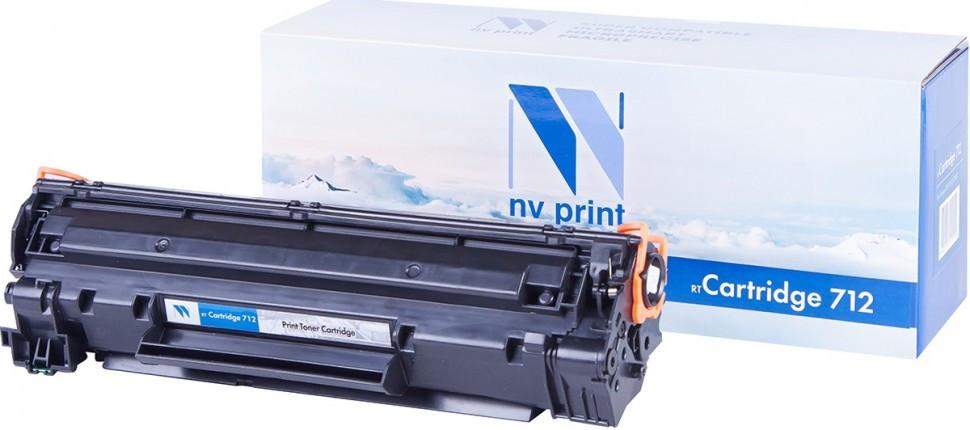 Картридж NVP совместимый Canon NV-712 для i-SENSYS LBP3010/3010B/3100 (1500k)