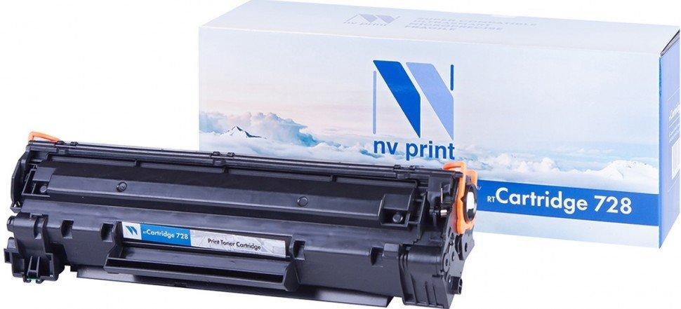 Картридж NVP совместимый Canon NV-728 для i-SENSYS MF4370/MF4410/MF4430/MF4450/MF4450d/MF4550/MF4550D/M
