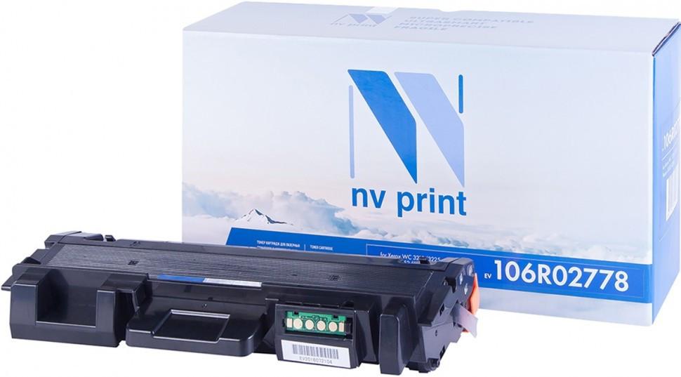 Картридж NVP совместимый Xerox NV-106R02778 для Phaser 3052/3260/WorkCentre 3215/3225 (3000k)