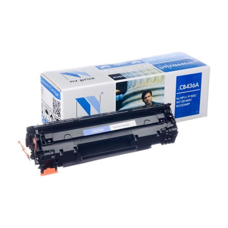 Картридж NVP совместимый HP CB436A для LaserJet M1120/M1120n/P1505/P1505n/M1522n/M1522nf (2000k)