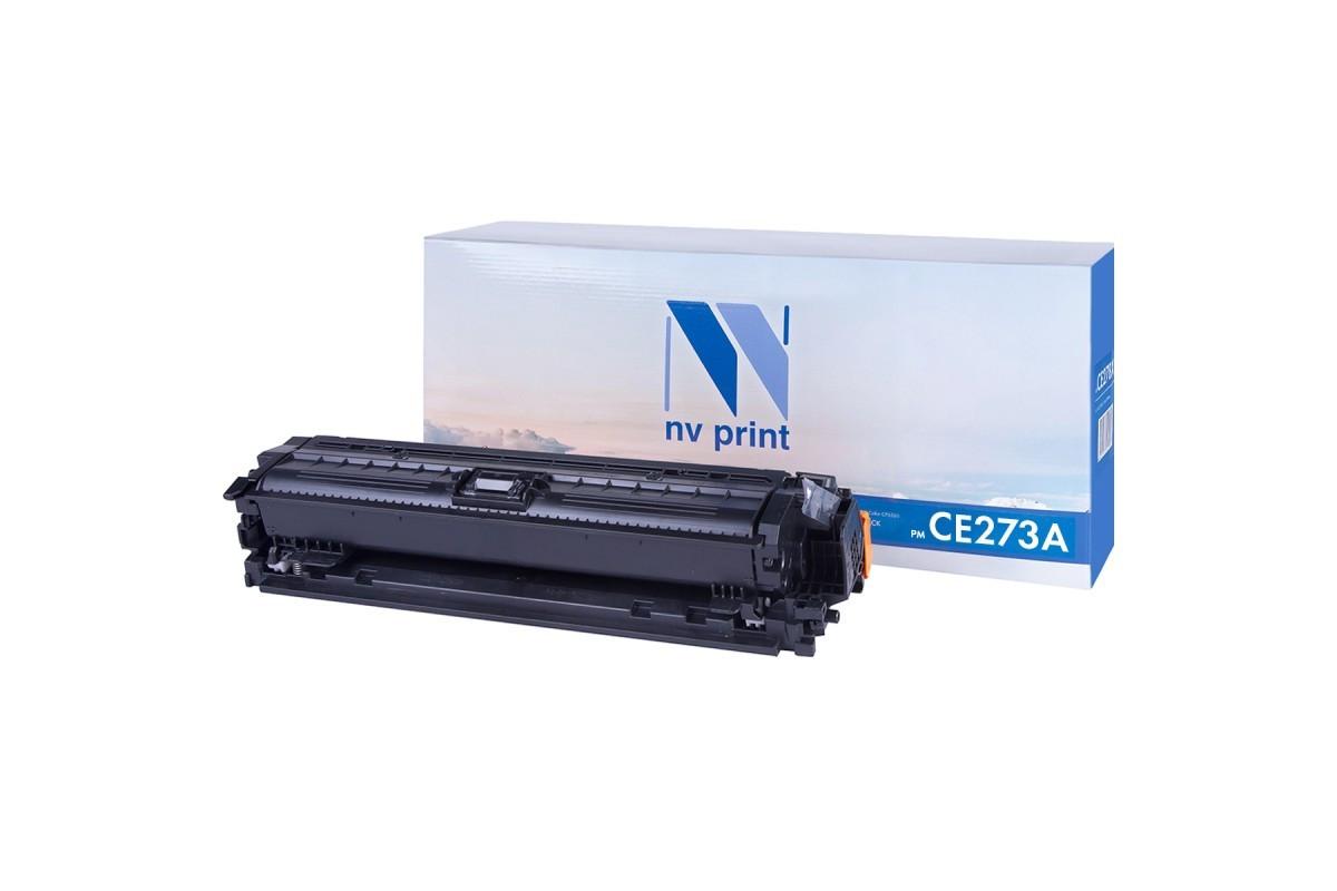 Картридж NVP совместимый HP CE273A Magenta для LaserJet Color CP5525dn/CP5525n/CP5525xh/M750dn/M750n