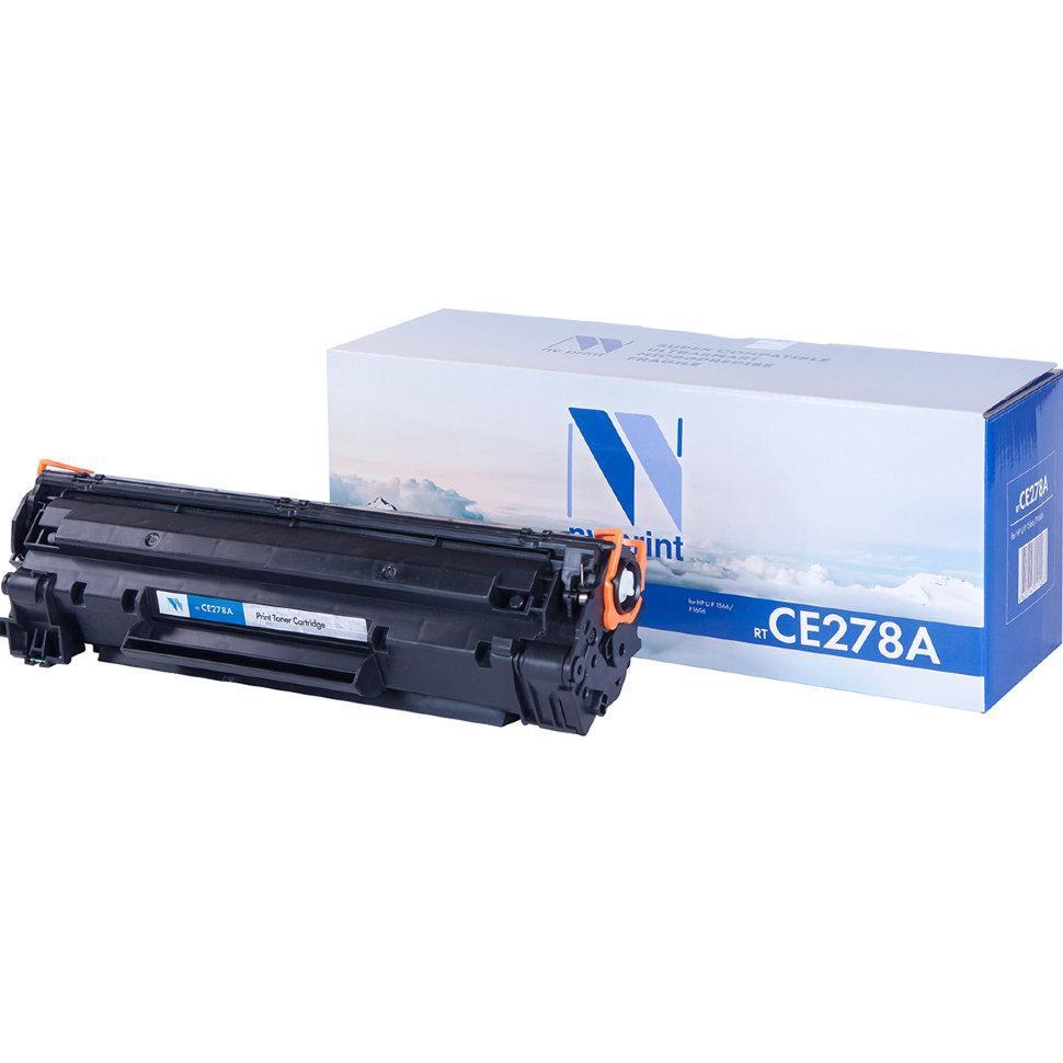 Картридж NVP совместимый HP CE278A для LaserJet Pro P1566/M1536dnf/P1606dn (2100k)
