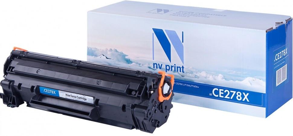 Картридж NVP совместимый HP CE278X для LaserJet Pro M1536dnf/Р1566/Р1606W (2300k)