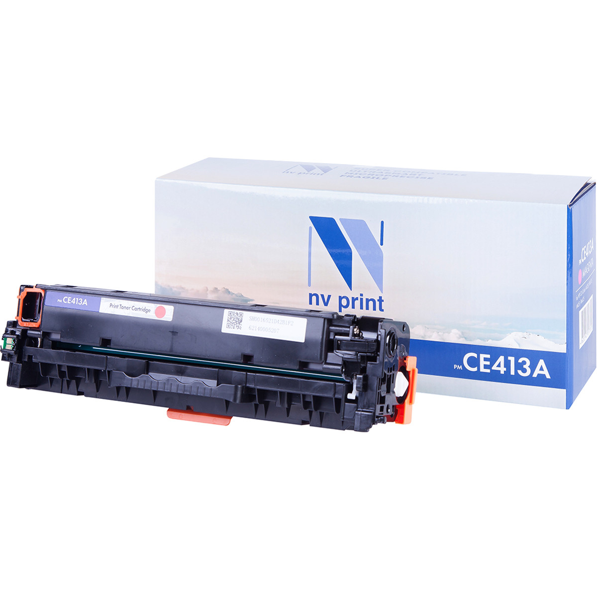 Картридж NVP совместимый HP CE413A Magenta для LaserJet Color M351a/M375nw/M451dn/M451dw/M451nw/M475