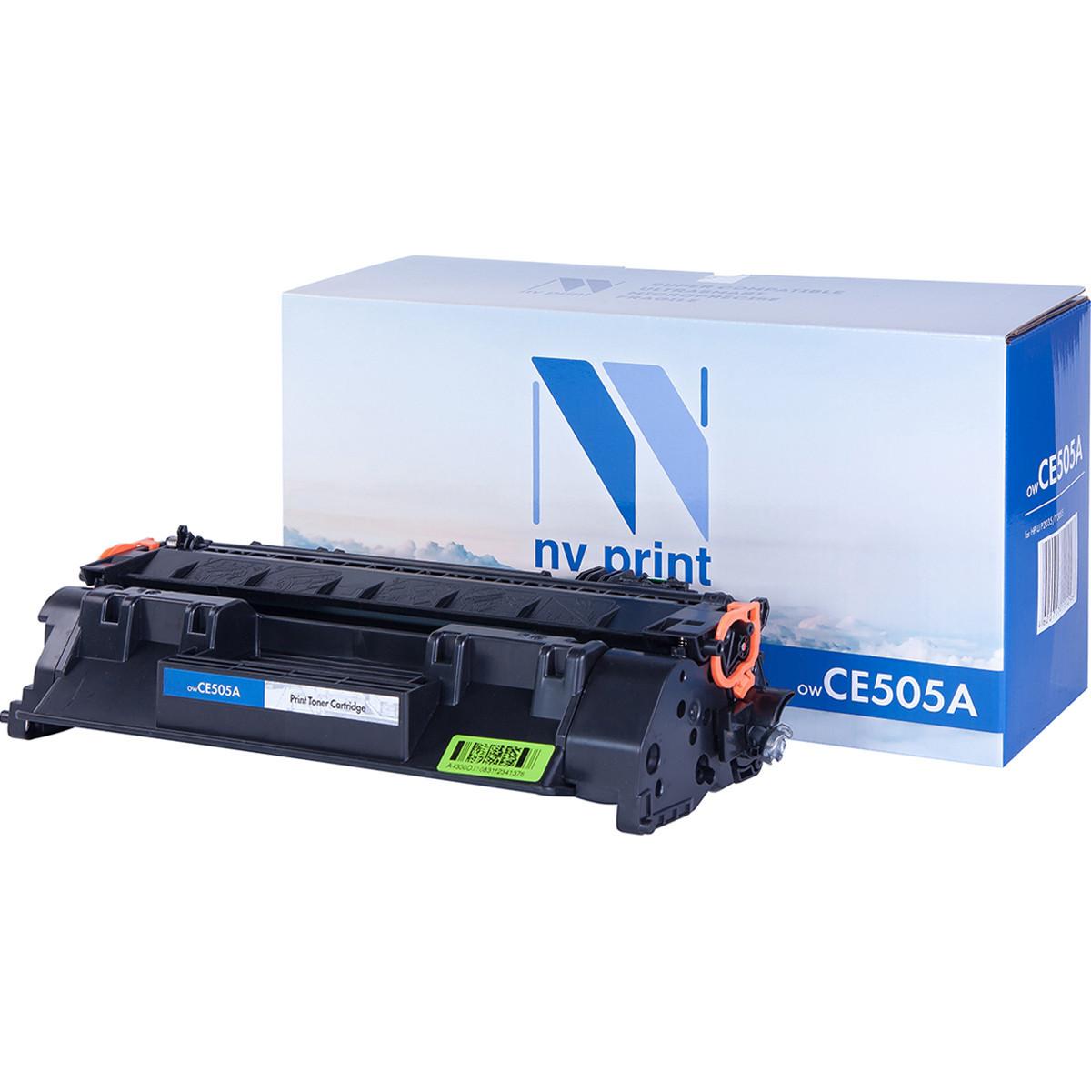 Картридж NVP совместимый HP CE505A для LaserJet P2035/P2035n/P2055/P2055d/P2055dn/P2055d (2300k)