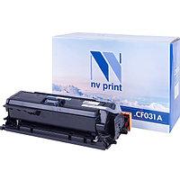 Картридж NVP совместимый HP CF031A Cyan для LaserJet Color CM4540 MFP/CM4540f MFP/CM4540fskm (12500k)
