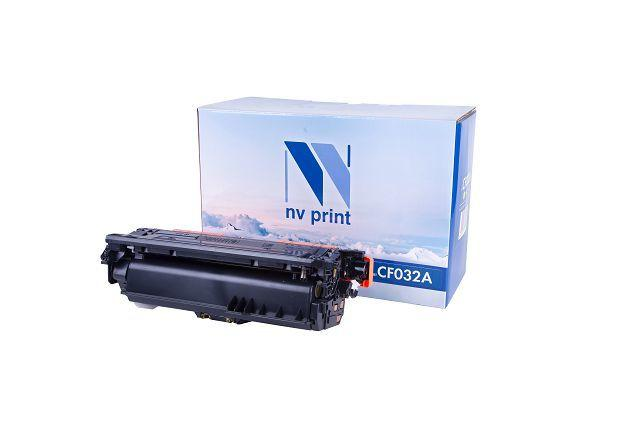 Картридж NVP совместимый HP CF032A Yellow для LaserJet Color CM4540 MFP/CM4540f MFP/CM4540fskm (1250)