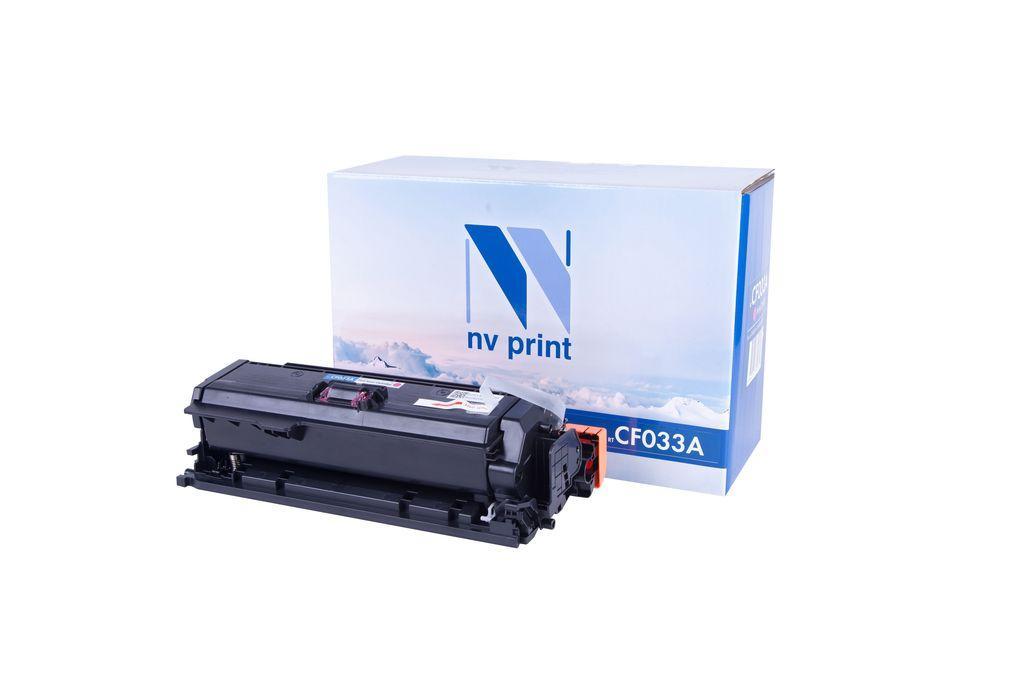 Картридж NVP совместимый HP CF033A Magenta для LaserJet Color CM4540 MFP/CM4540f MFP/CM4540fskm (125