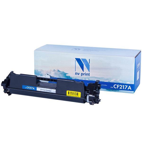 Картридж NVP совместимый HP CF217A для LaserJet Pro M102w/M130fw (1600k)
