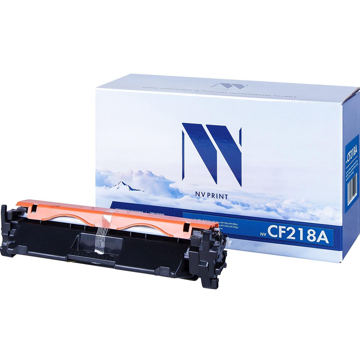 Картридж NVP совместимый HP CF218A для LaserJet Pro M104a/M104w/M132a/M132fn/M132fw/M132nw (1400k)