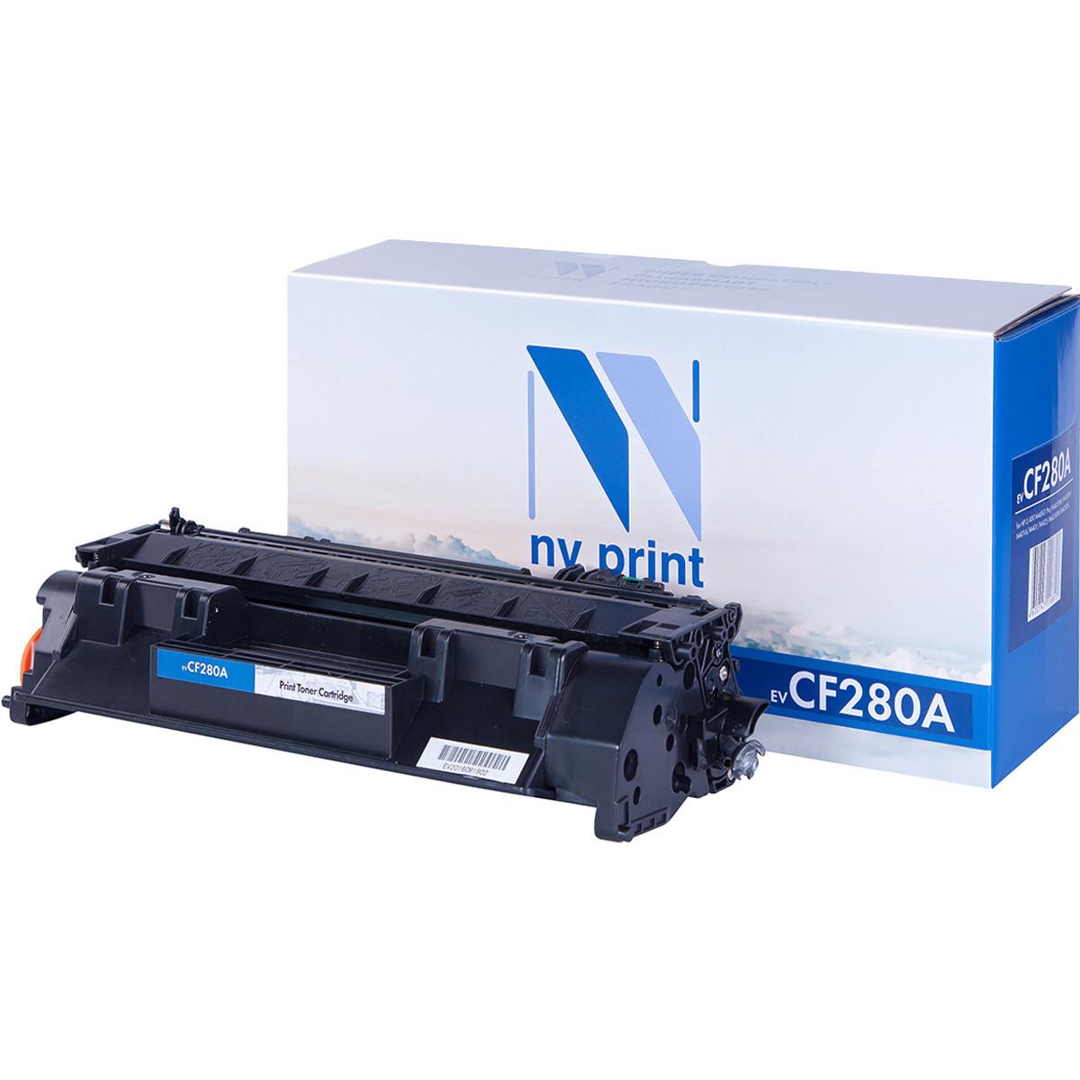 Картридж NVP совместимый HP CF280A для LaserJet Pro M401d/M401dn/M401dw/M401a/M401dne/MFP-M425dw/M42