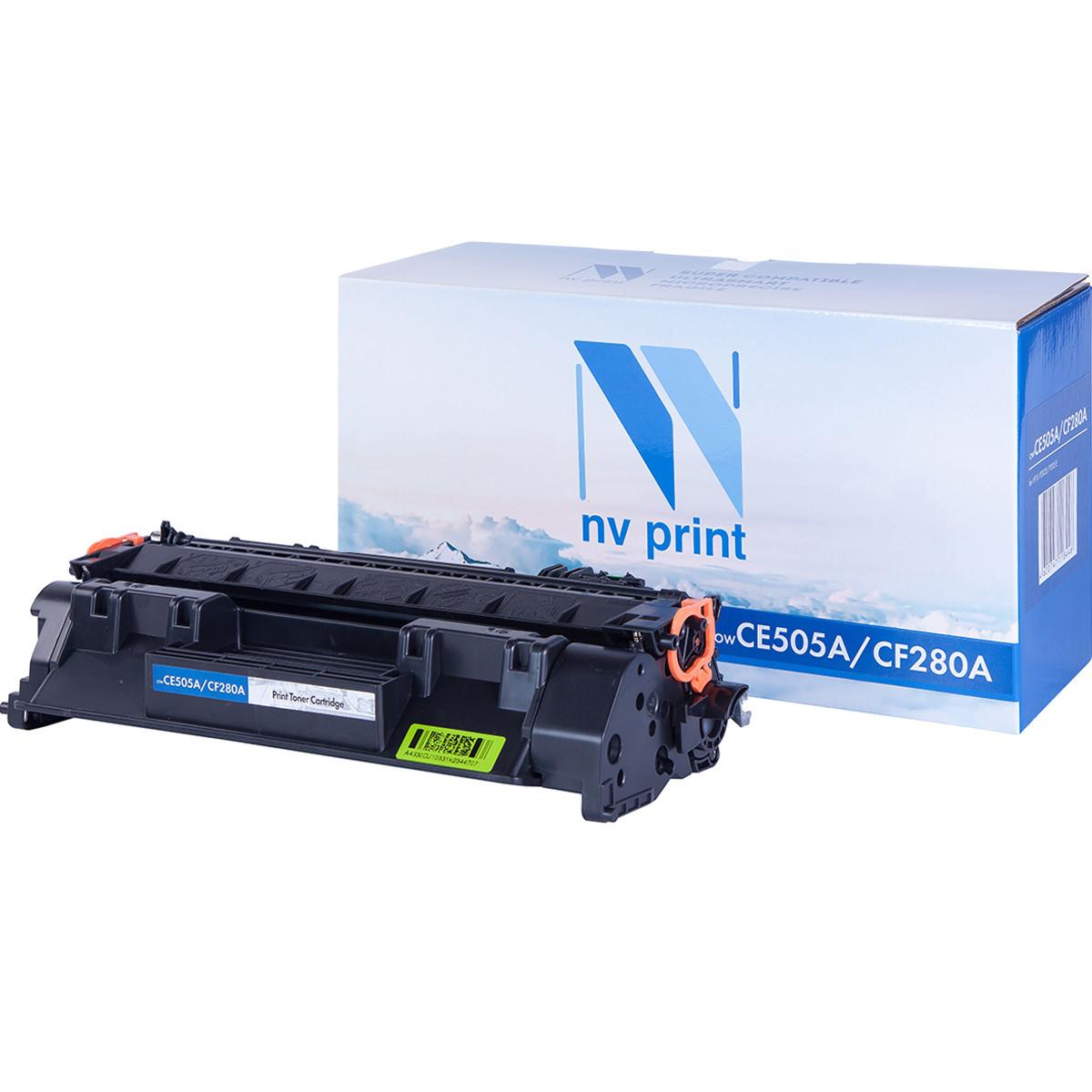 Картридж NVP совместимый HP CF280A/CE505A для LaserJet Pro