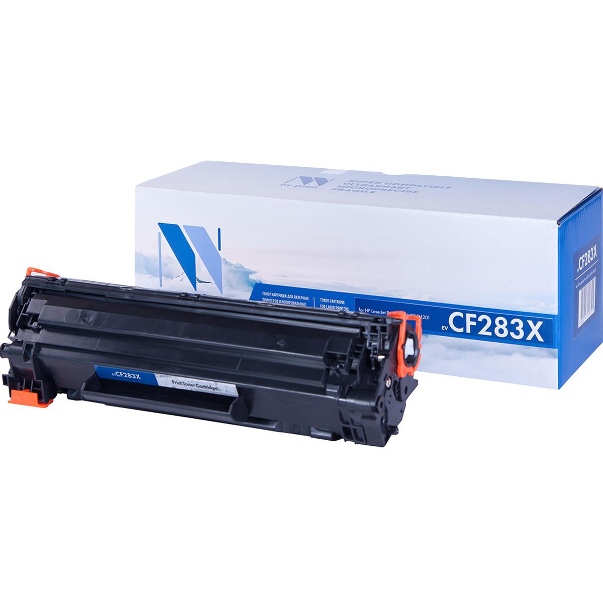 Картридж NVP совместимый HP CF283X для LaserJet Pro M201dw/M201n/M225dw/M225rdn (2200k)