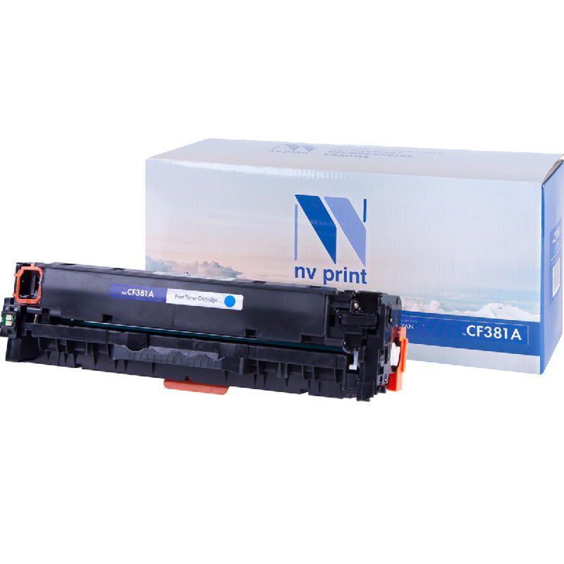 Картридж NVP совместимый HP CF381A Cyan для LaserJet Color Pro M476dn/M476dw/M476nw (2700k)