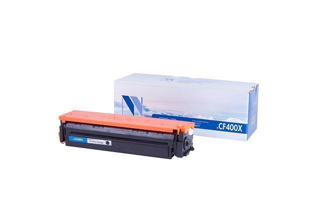 Картридж NVP совместимый HP CF400X Black для LaserJet Color Pro M252dw/M252n/M274n/M277dw/M277n (2800k)