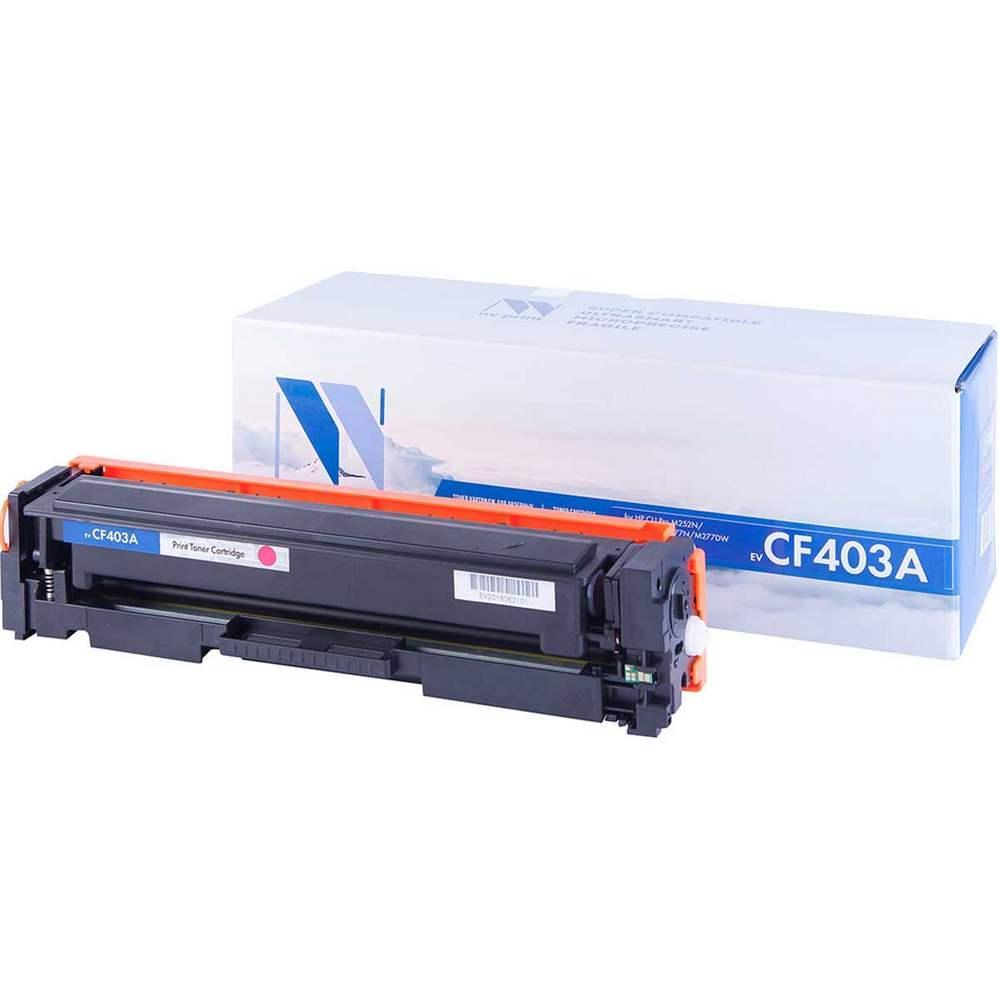 Картридж NVP совместимый HP CF403A Magenta для LaserJet Color Pro M252dw/M252n/M274n/M277dw/M277n (1400к)