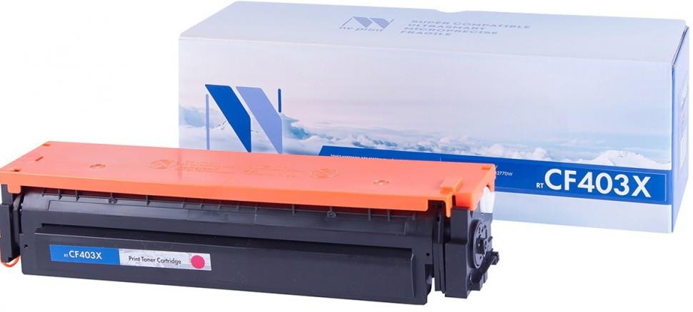 Картридж NVP совместимый HP CF403X Magenta для LaserJet Color Pro M252dw/M252n/M274n/M277dw/M277n (2300k)