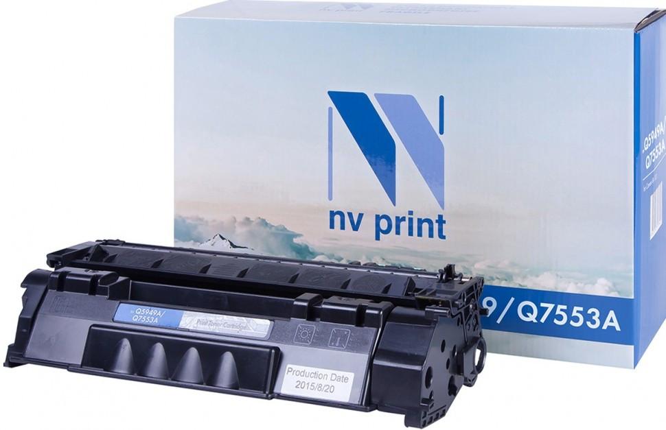 Картридж NVP совместимый HP Q7553A для LaserJet P2014/P2015/P2015dn/P2015n/P2015x/M2727nf/M2727nfs (