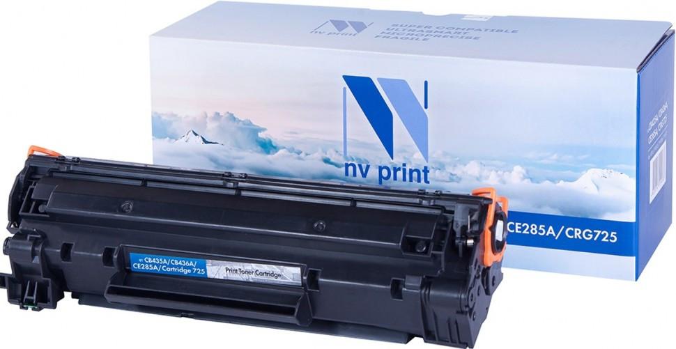 Картридж NVP совместимый HP CB435A/CB436A/CE285A/Canon725 для LaserJet