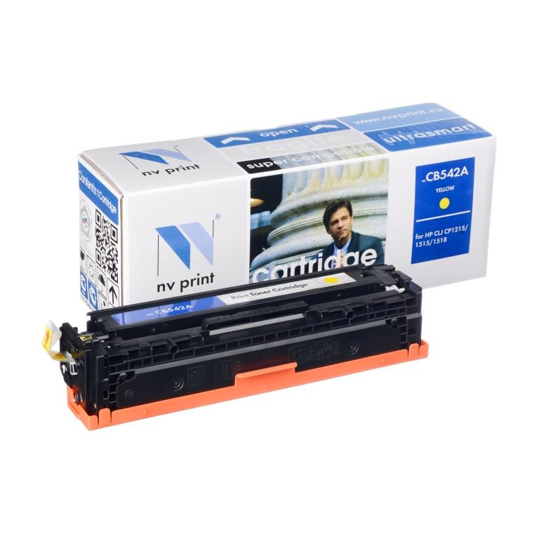 Картридж NVP совместимый HP CB542A/Canon 716 Yellow для LaserJet Color CP1215/CM1312/CM1312nfi/CP1215/Canon i-SENSYS