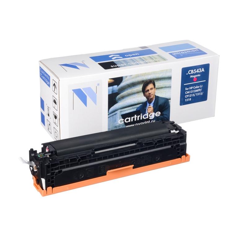 Картридж NVP совместимый HP CB543A/Canon 716 Magenta для LaserJet Color CP1215/CM1312/CM1312nfi/CP1215/Canon i-SENSYS