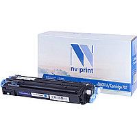 Картридж NVP совместимый HP Q6001A/Canon 707 Cyan для LaserJet Color 1600/2600n/2605/2605dn/2605dtn/Canon i-SENSYS LBP-5000/5100 (2000k)