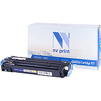 Картридж NVP совместимый HP Q6002A/Canon 707 Yellow для LaserJet Color 1600/2600n/2605/2605dn/2605dtn/Canon i-SENSYS LBP-5000/5100 (2000k)
