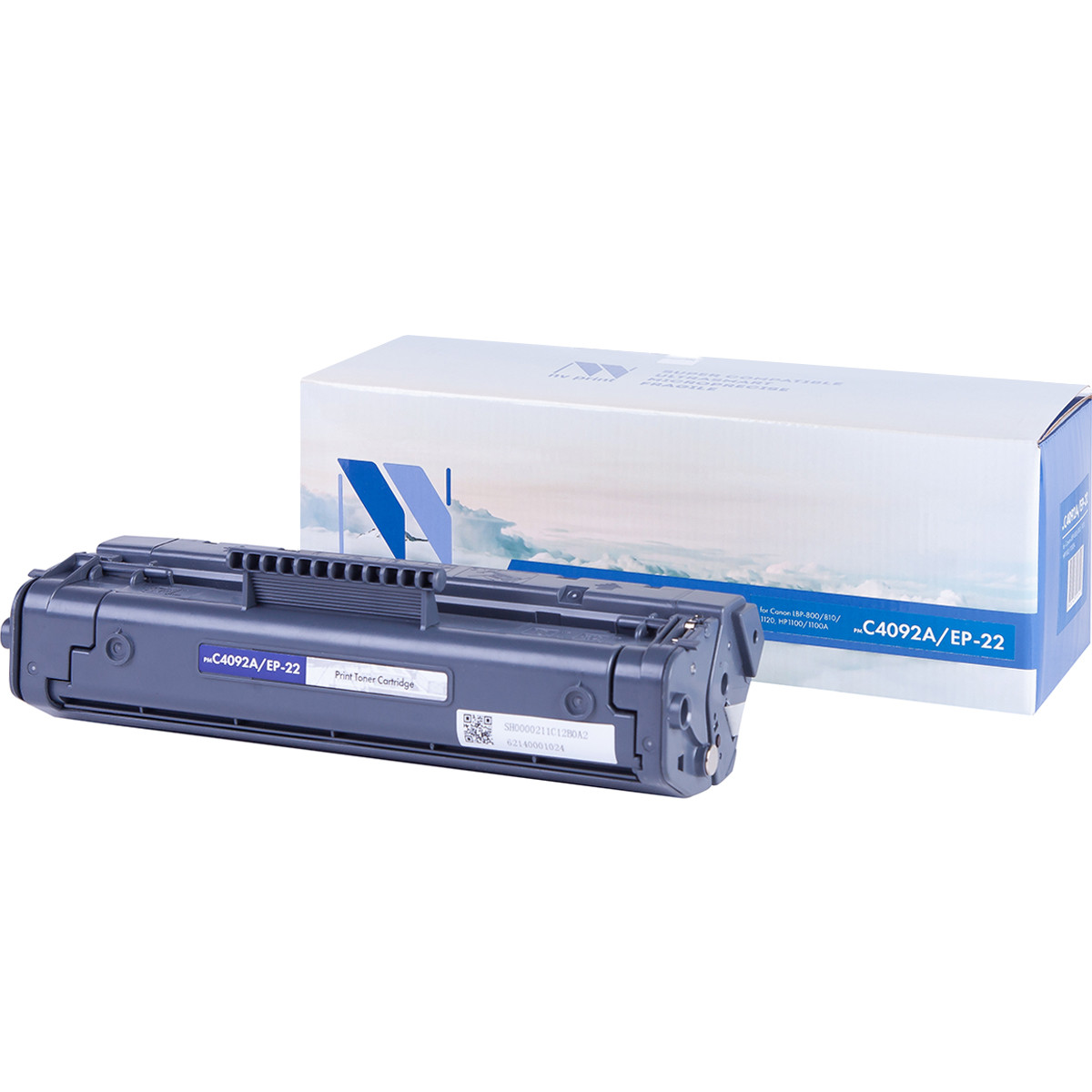 Картридж NVP совместимый HP C4092A для LaserJet 1100/1100a/3200/3220 (2500k)