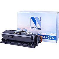 Картридж NVP совместимый HP CE262A Yellow для LaserJet Color CP4025dn/CP4025n/CP4525dn/CP4525n/CP452
