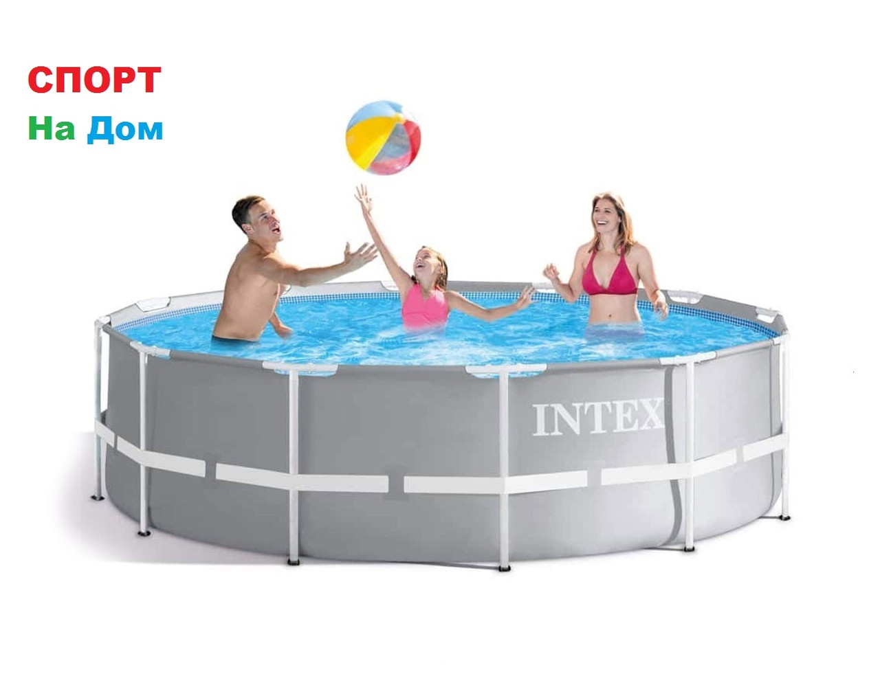 Каркасный бассейн Intex 26702 ( 305 х 76 см, на 4485 л. )