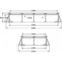 Каркасный бассейн Intex 28273 (450 х 220 х 84 см, на 7127 литров), фото 2