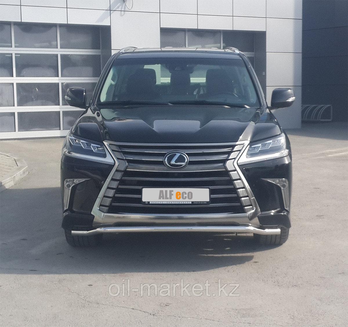 Защита переднего бампера, волна ( D 50.8) для Lexus LX 570 (2015-)