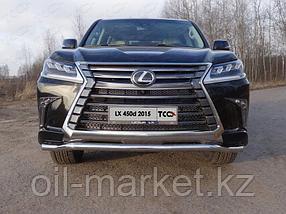 Защита переднего бампера, волна (D 60 мм) для Lexus LX 570 (2015-), фото 2