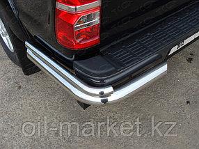 Защита заднего бампера, уголки двойные для Toyota Hilux ( 2011-2014), фото 2